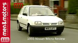 nissan micra in usa 1993 nissan micra review youtube