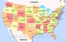 map usa all states map of the united states showing all states world maps