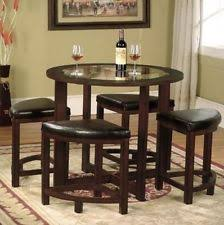 Round Glass Dining Table EBay - Round glass kitchen table sets