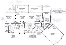 house plan 98267 luxury ranch plan with 2498 sq ft 3 bedrooms