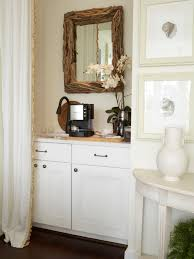 Photos Hgtv Home Coffee Bar And Driftwood Mirror Loversiq
