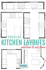 kitchen plan ideas best 25 kitchen layouts ideas on kitchen layout diy