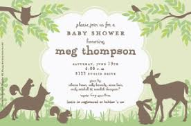 woodland baby shower invitations woodland friends