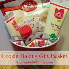 baking gift basket cookie baking gift basket contented at home