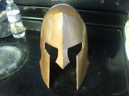 diy animated halloween props how to make a cardboard costume helmet 7 steps with pictures