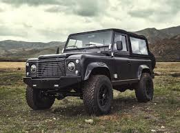 Icon Land Rover Defender 90 With 6 2 Chev V8 Performancedrive