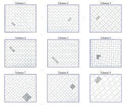 tile patterns for kitchen best 25 subway tile patterns ideas on pinterest shower tile