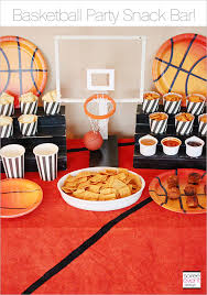 basketball party ideas basketball party snack bar cheez it meatball recipe soiree
