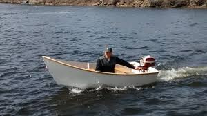 Free Wooden Boat Plans Skiff by Power Outboard Boats Woodenboat Magazine