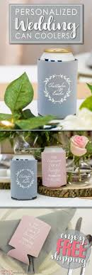 totally wedding koozies coupon code so white on gray is so pretty match your koozies to your