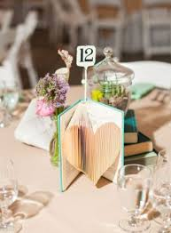 simple wedding centerpieces 24 simple and book wedding centerpieces weddingomania