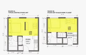Micro Studio Plan Micro Legislation An Architect U0027s Perspective Smart Growth