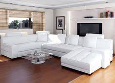 Neoteric Design White Leather Living Room Sets Contemporary - White leather living room set