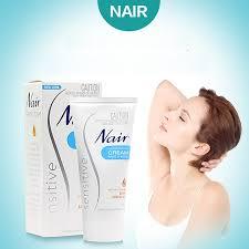 original australia nair sensitive hair removal cream gently
