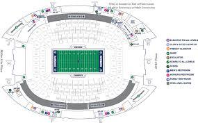 Stadium Plan Stadium Maps Attstadium