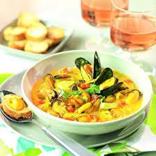 cuisine et vin recette bouillabaisse de moules moule vin et