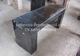 Petrified Wood Bench Petrified Wood Console Petrified Wood Indonesia