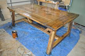 How To Build A Cheap End Table by How To Build A Farmhouse Table