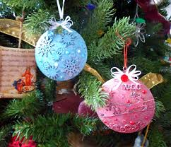 gypsy soul laser cuts metal christmas ornaments by lynne