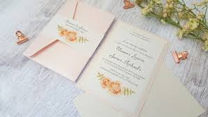 Wedding Invitations Prices Handmade Wedding Invitations Pocketfold Invitations Peony