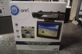 Under Kitchen Cabinet Cd Player Onn Ona16av011 Under Kitchen Cabinet Tv Dvd Player 10