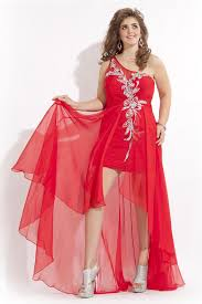 high low one shoulder plus size prom dresses sheath short pleated