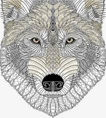 imagen blanco y negro en illustrator foto en blanco y negro lobo cabeza illustrator blanco y negro