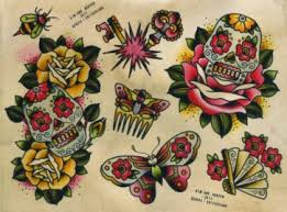 on butterflies drawings by sailor jerry the painting is me tatts