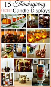 15 thanksgiving candle display ideas