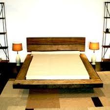 Reclaimed Wood Platform Bed Plans by Reclaimed Wood Platform Bed Salvaged Wood Headboard Vintage