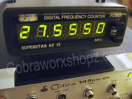 Radio Frequency Display Freq Counters