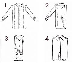 How to fold a dress shirt kamiceria 39 s blog