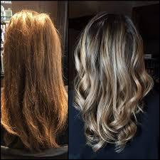 kaila lundstrom hair stylist at tangerine hair salon home