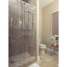 Kas Shower Curtain Glacier Bay Peva Premium 8 Gauge 72 In Shower Liner In White