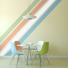 solid stripe wall decals striped walls wall borders and paint