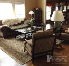 kalaty shah jahan oriental rug in living room setting earth tones