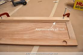 how to router cabinet doors for glass fridge wall progress converting wood cabinet doors to glass and