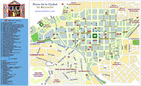 Tourist Map Of San Francisco by Ayacucho Tourist Map Ayacucho Peru U2022 Mappery