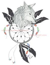 wolf dreamcatcher by jethero13 on deviantart