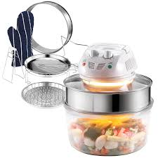 amazon com vonshef 12 5 quart premium 1200w halogen convection