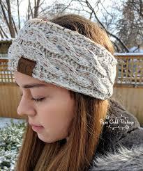 knit headbands confetti knit cc cable headbands 5 colors gold vintage