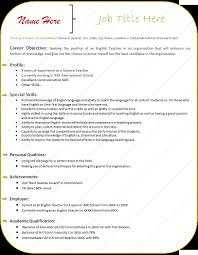 Resume Personal Attributes Sample by Emailing Resume For Job Free Resume Example And Writing Download