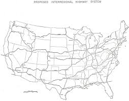 map us interstate system interstate system map skyscrapercity