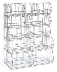 Storage Bin Shelves by Wire Bin Dump Shelves Storage Bins