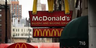 is mcdonalds open thanksgiving mcdonald u0027s sales continue to slide
