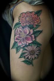january birth flower tattoo ma3sa