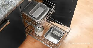 kitchen cabinet pull out storage racks 9 best pull out shelves for kitchens woodworker access