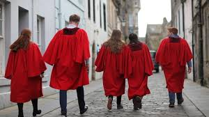 where do you put a st st andrew s red gown rituals put off disadvantaged students