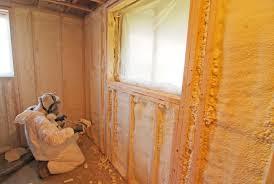 Spray Foam Insulation For Basement Walls by Spray Polyurethane Foam Insulation Advantages For Certain Types