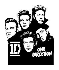 one direction wall sticker for kids rooms bedroom living home